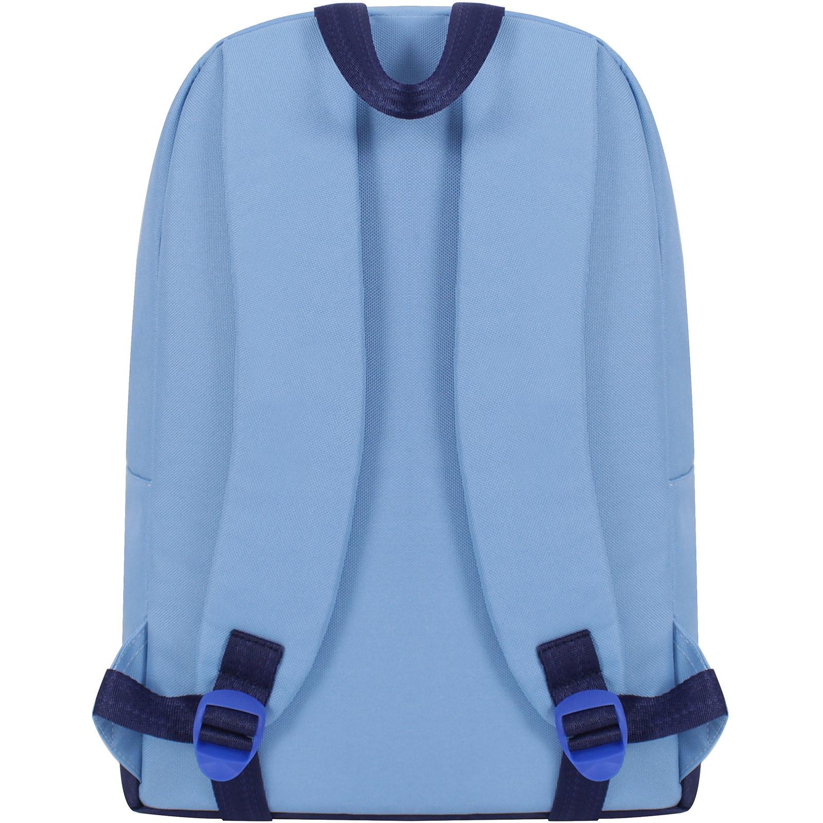 Рюкзак Bagland Amber 15 л. голубой (0010466) фото 3