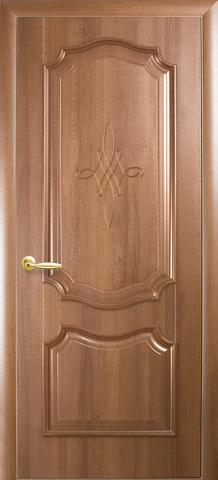 Дверь Рокка ДГ (золотая ольха, глухая ПВХ), фабрика Новый Стиль