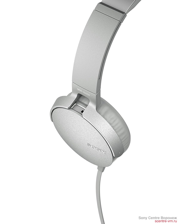 Наушники Sony MDR-XB550AP W купить в Sony Centre Воронеж
