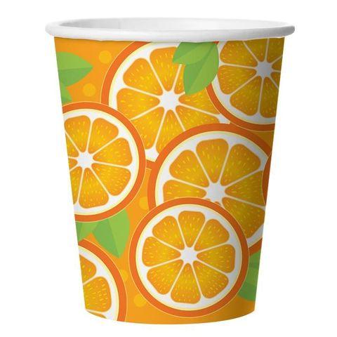 Стаканы (250 мл) Апельсин, 6 шт.