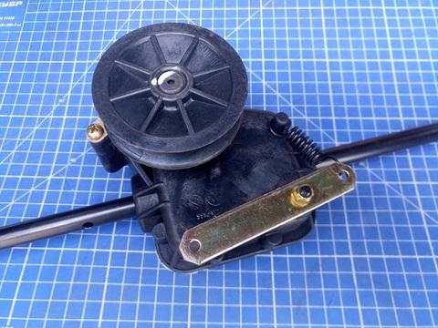 Редуктор газонокосилки DDE WYZ22-1 (WYZ22H) 1 скорость (2222000)