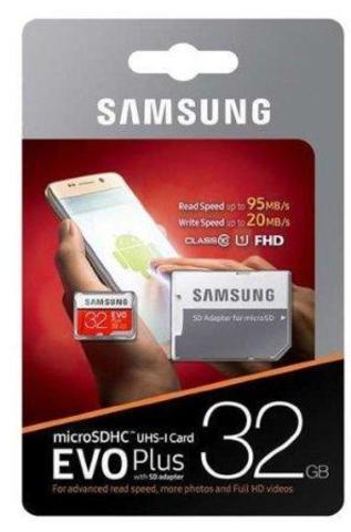 micro SDHC карта памяти Samsung 32GB Class 10 + ад