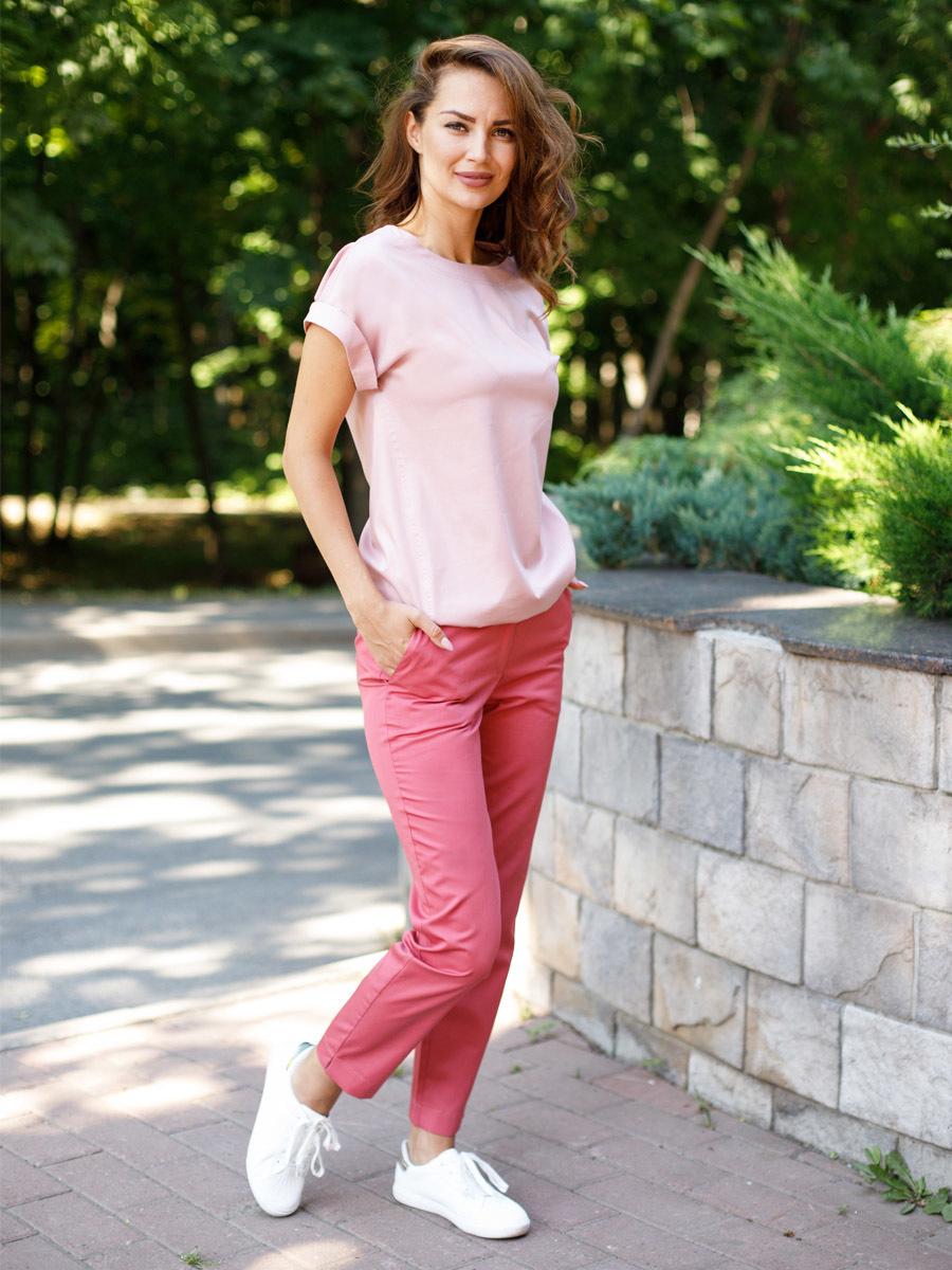 Блуза Бл-1019 MediS.moda цвет зефир