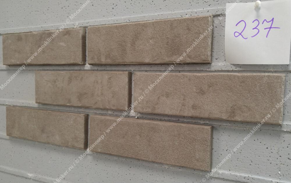 Stroeher - 237 austerrauch, Zeitlos, состаренная поверхность, ручная формовка, 240x71x14 - Клинкерная плитка для фасада и внутренней отделки