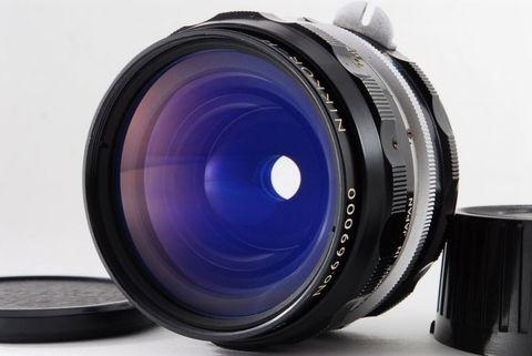 Объектив Nikon Nikkor-H 28 mm f/ 3.5 non-Ai
