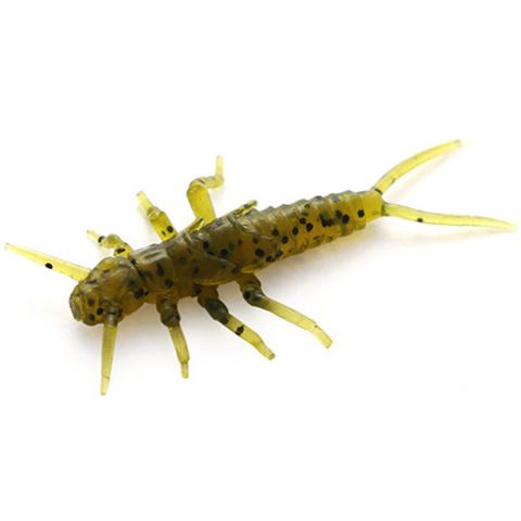 Силиконовая приманка FishUp Stonefly цвет № 074 - Green Pumpkin Seed