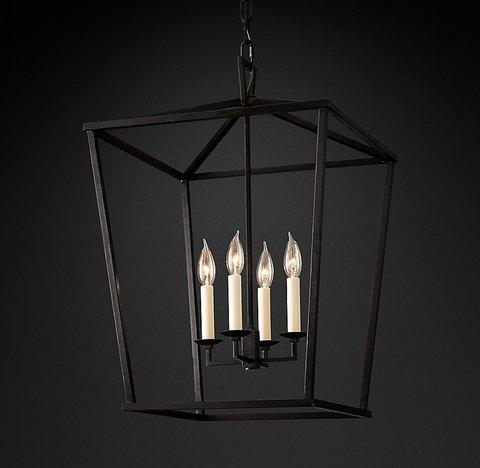 Подвесной светильник копия 19th C. English Openwork Pendant by Restoration Hardware