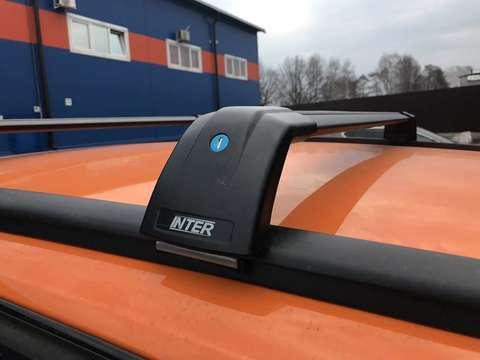 Багажник Inter AEROSTAR АЭРОСТАР R-73i черный на низкие рейлинги