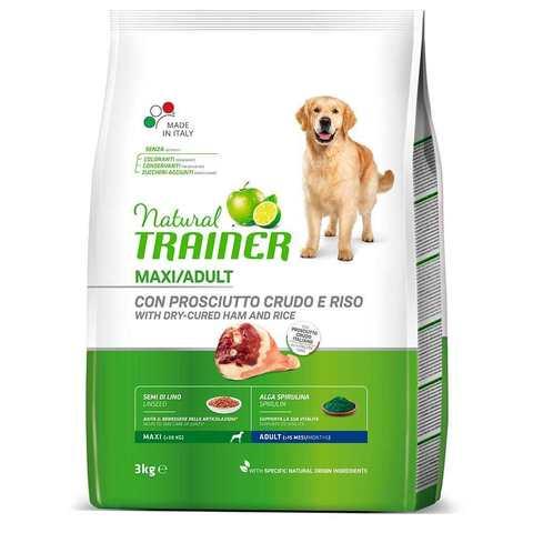 Сухой корм для собак TRAINER свинина, индейка, курица (для крупных пород)