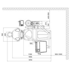 QL 2028 установка с нижней подачей Fengdan