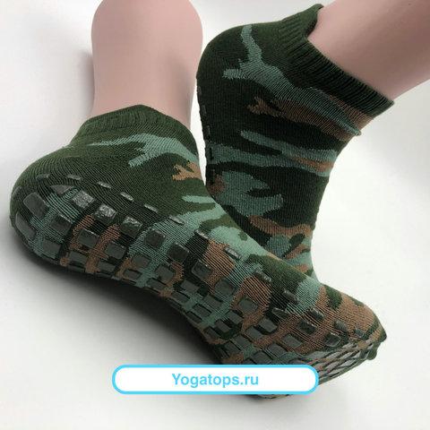 Нескользящие носки - Усиленные (р. 40-42, Милитари)