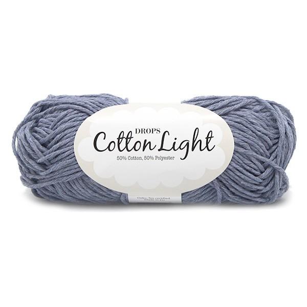 Пряжа Drops Cotton Light 34 светлый джинс