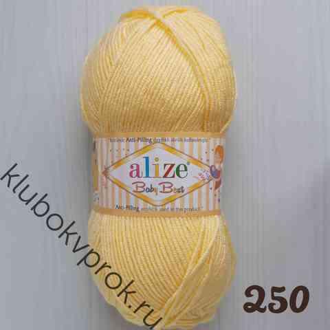 ALIZE BABY BEST 250, Светлый лимон