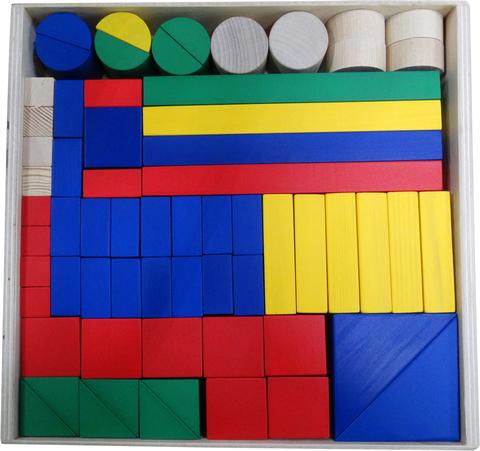 Детский строительный набор 65 элементов