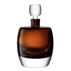 Декантер Whisky Club, 1,05 л, коричневый, фото 1