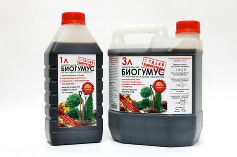 Биогумус жидкий 1л ИП Ткаченко