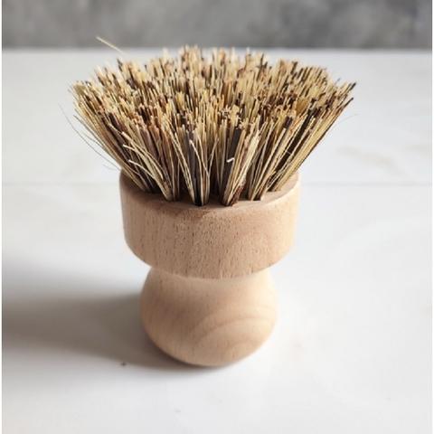 Щётка бамбуковая для мытья кастрюль