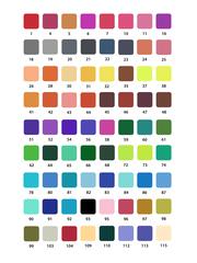 Mazari Artist набор маркеров для скетчинга 72 шт двусторонние акварельные пуля/кисть 0.4-3.5 мм
