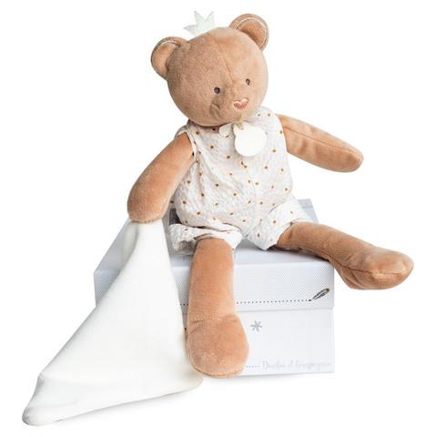 Doudou et Compagnie. Мишка медовый 26 см из коллекции ATTRAPE REVE