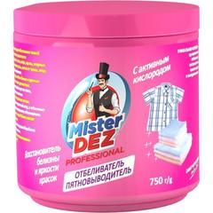 Отбеливатель пятновыв восст белиз  яр-и  крас актив/кисл MisterDez PROF750г