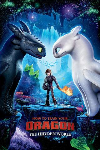 Постер How To Train Your Dragon. The Hidden World 231-PP34451