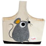 Сумочка для хранения 3 Sprouts Мышонок (серый)