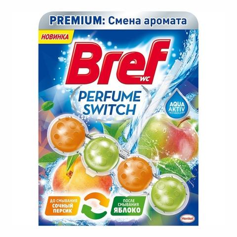 Блок д/унитаза БРЕФ Персик Яблоко 50 г РОССИЯ