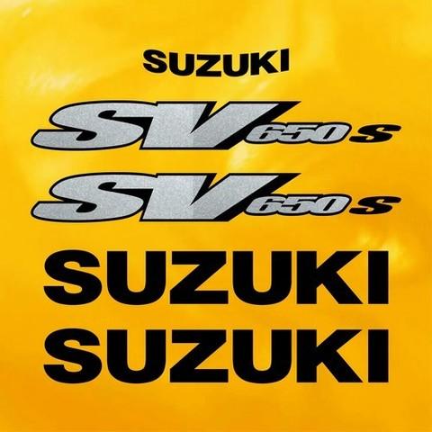 Набор виниловых наклеек на мотоцикл SUZUKI SV 650S 2000
