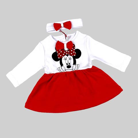 Платье+повязка малышке (68-86) 210403-OP1073.2