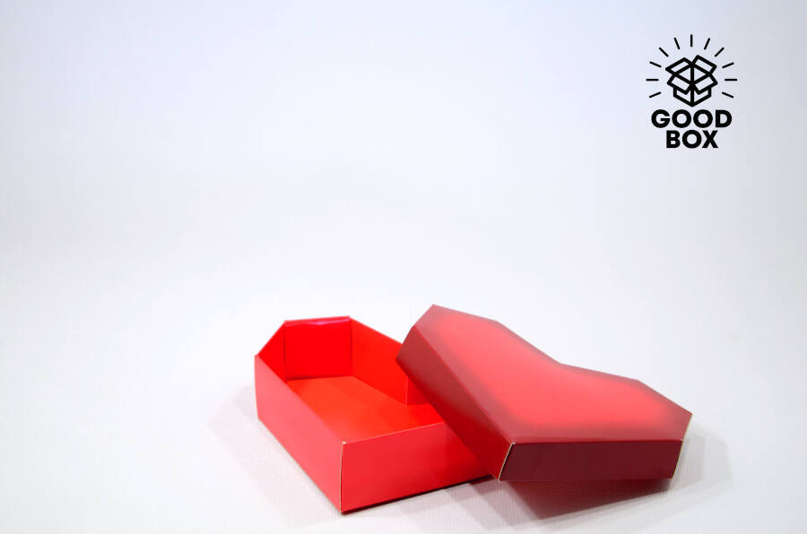 Подарочная коробка в форме сердца купить в Казахстане недорого