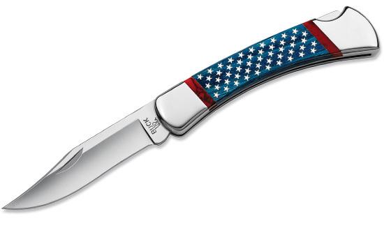 Нож BUCK модель 0110BLSUSA Stars and Stripes