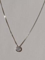 0320181 (серебряная цепочка с подвеской)