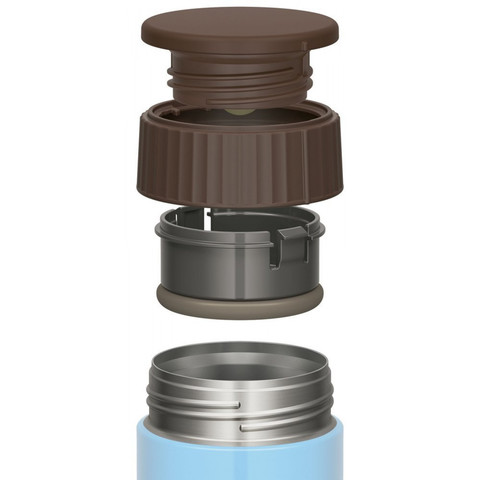 Термос для еды Thermos JBQ-400-AQ (0,4 литра), голубой