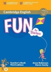 Fun for Starters 3rd Edition Teacher's Book