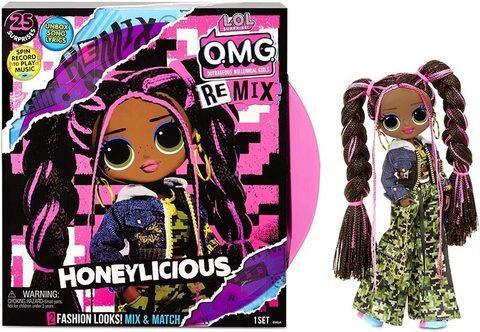 Кукла L.O.L. Surprise! O.M.G. Remix Honeylicious Fashion Doll, 567264