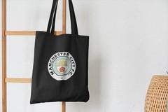 Сумка-шоппер с принтом FC Manchester City (ФК Манчестер Сити) черная 004
