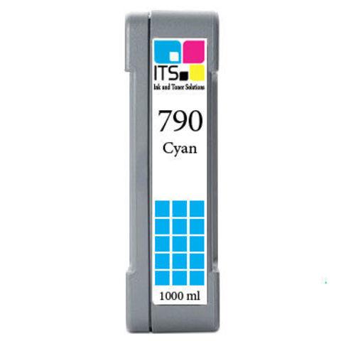 Картридж для HP 790 (CB272A) Cyan 1000 мл