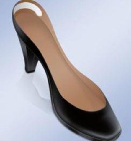 Прозрачные  гелевые подушечки для обуви на задник против мозолей арт. PS-21