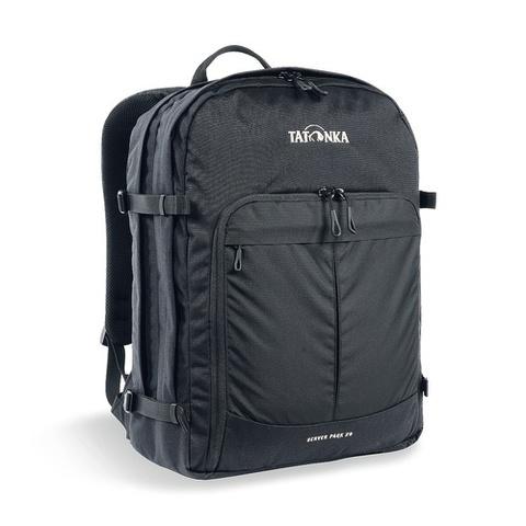 Картинка рюкзак для ноутбука Tatonka Server Pack 29 Black - 1