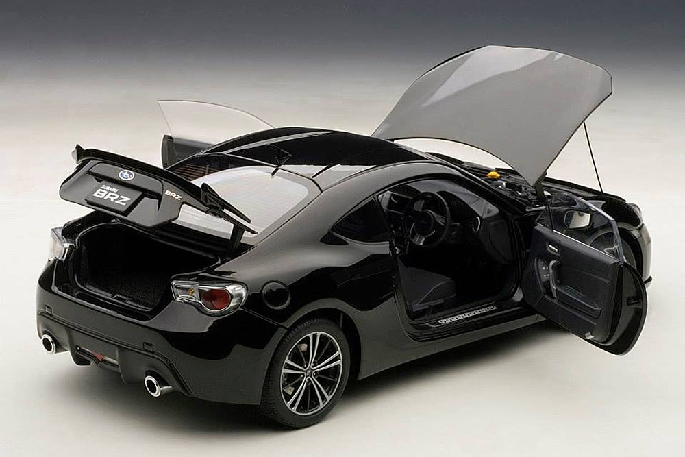 Коллекционная модель Subaru BRZ RHD 2012 Black