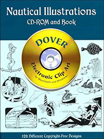 9780486999791 - Nautical Illustrations CD-ROM and Book