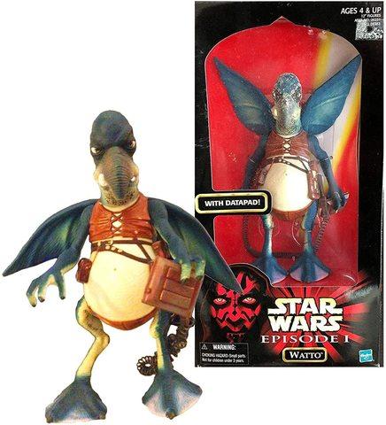 Звездные войны игрушка Уотто