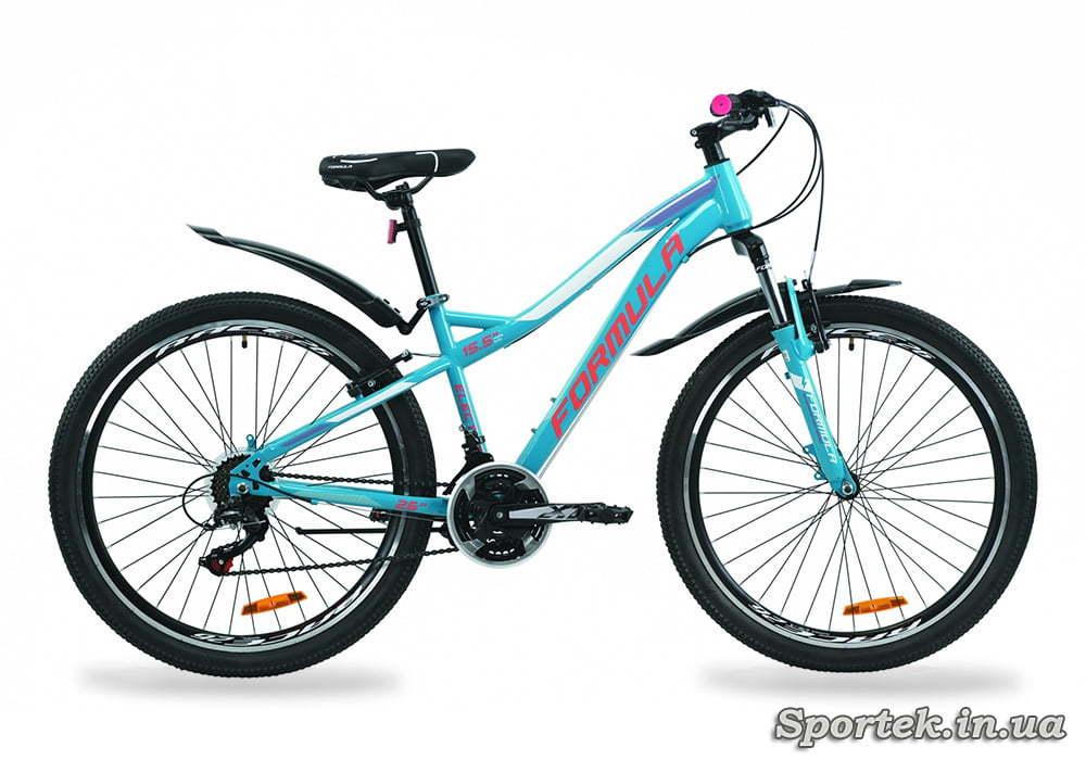 Горный женский велосипед Formula Electra - бирюзовый
