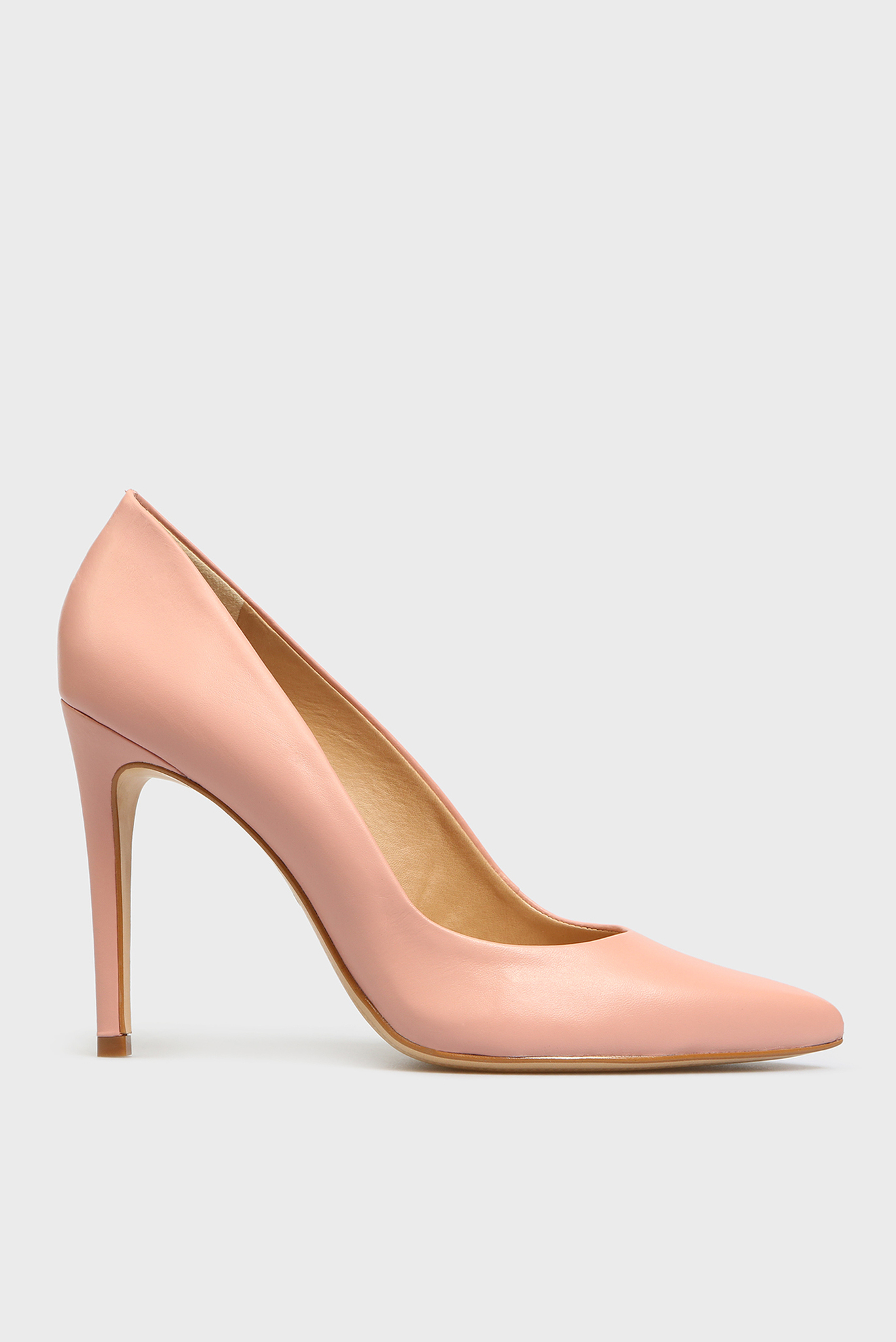 Женские розовые кожаные лодочки Gigi Preppy