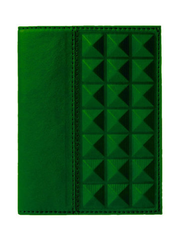 Обложка на паспорт | Геометрия | Зеленый