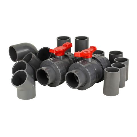 Комплект фитингов для противотечения Aquaviva на базе насосов AFS40 & AFS55 / 15257