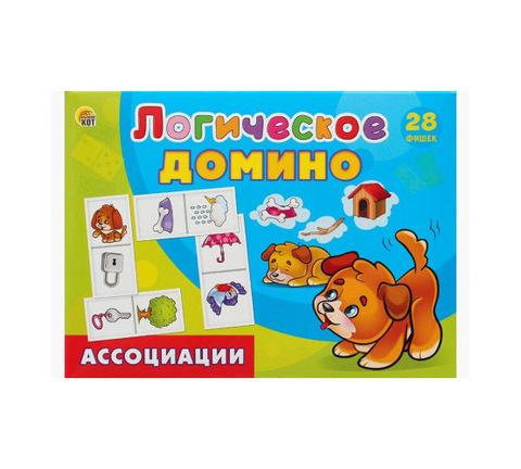 Логическое Домино АССОЦИАЦИИ - 28 фишек