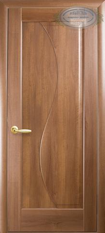 Дверь Эскада ДГ (золотая ольха, глухая ПВХ), фабрика Новый Стиль