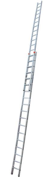 FABILO Выдвижная лестница, 2 х 18 перекладин