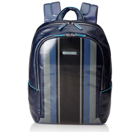 Рюкзак Piquadro Blue Square, синий, 27,5x39x15 см, 16 л